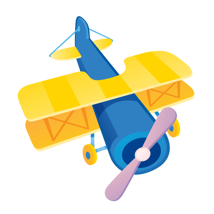Clouds clipart airplane. Sale online wallstickers for