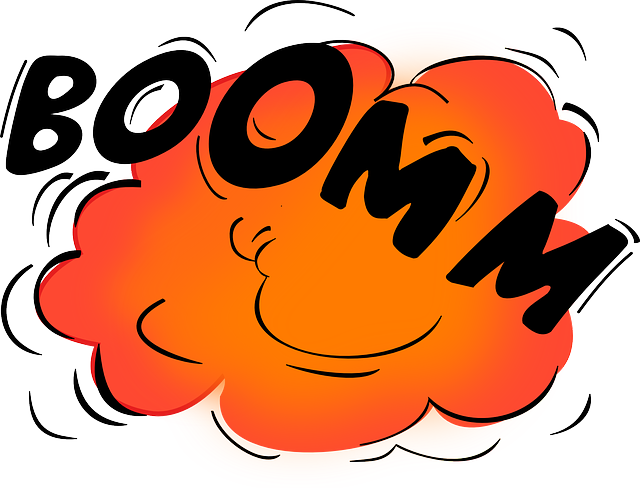 Yelling clipart cacophony. The atomic bomb by
