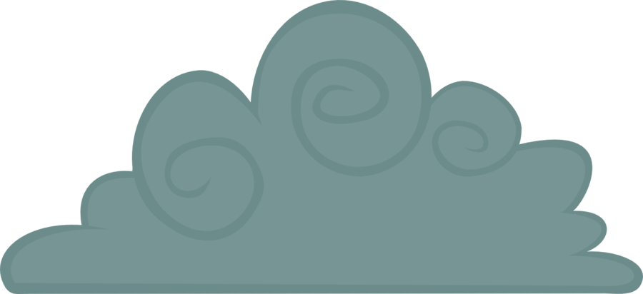Raincloud by cwossie on. Clipart clouds bunch