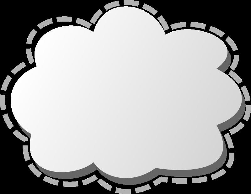 Medium image png . Cloud clipart circle