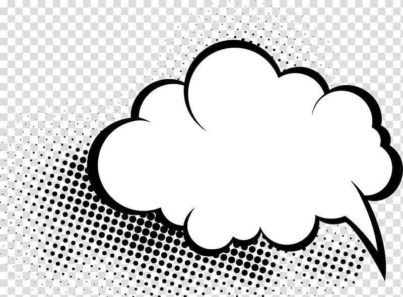 White cloud illustration comics. Clouds clipart comic book