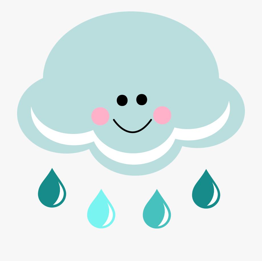 Happy cloud clipartfest wikiclipart. Clipart rain cute