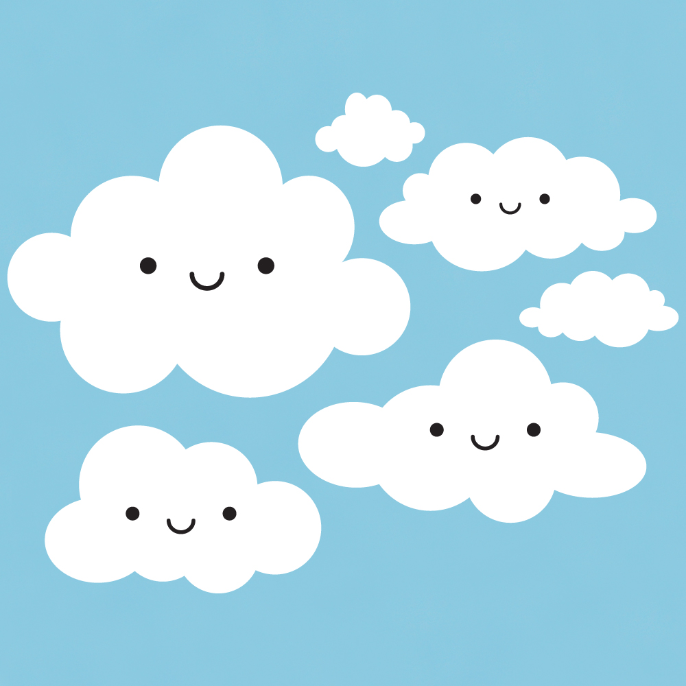 Free cloud cliparts download. Clouds clipart cute