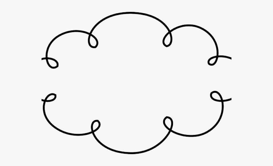 Clouds transparent background . Cloud clipart doodle