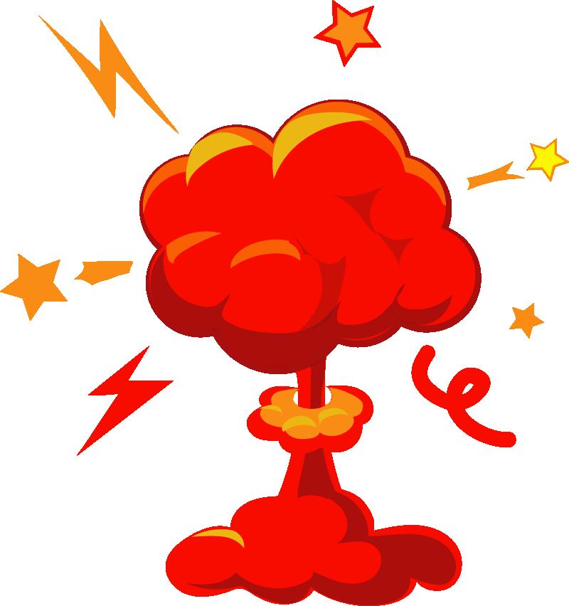 Stock clip art red. Clipart explosion illustration