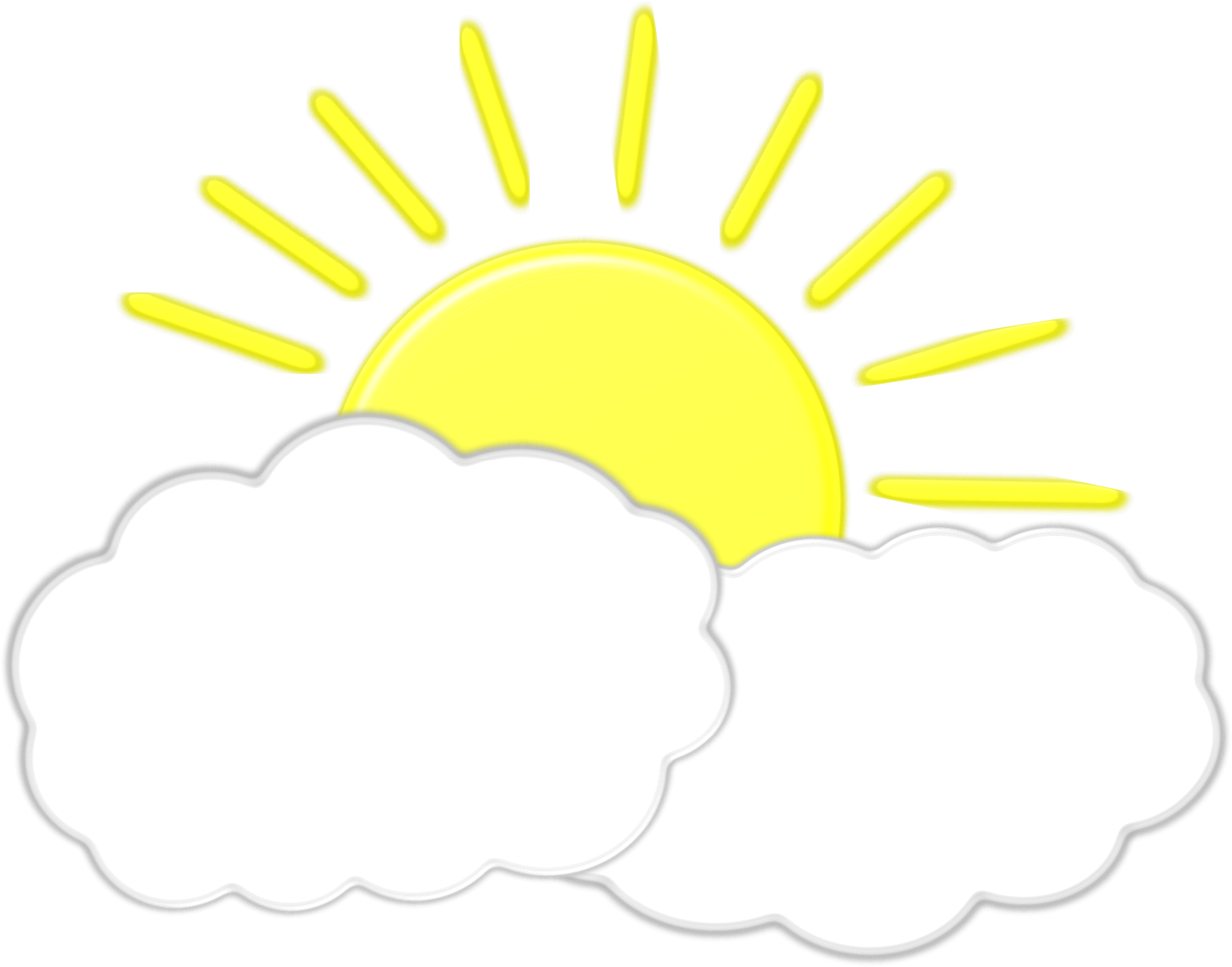 Clipart sun afternoon. Clouds cloud pencil and