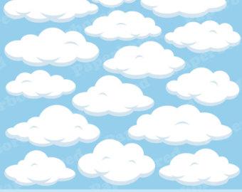 Clouds clip art panda. Cloud clipart fluffy cloud