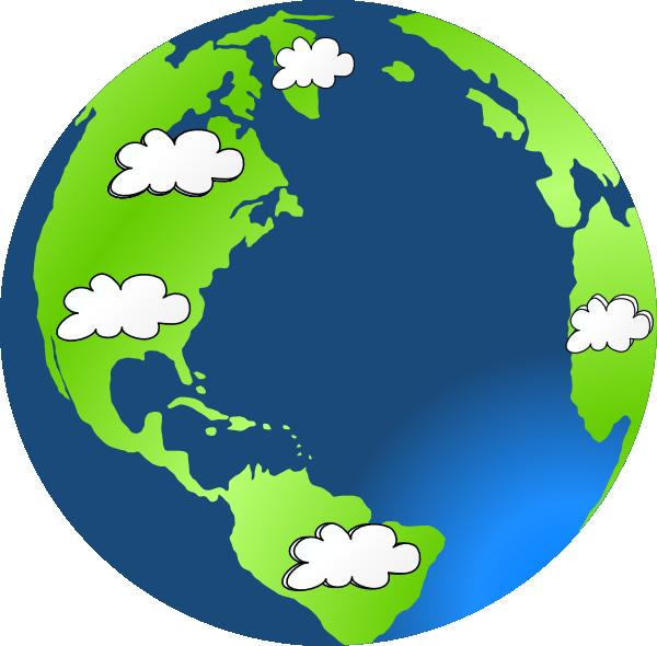 Planet clipart orbit planet. Earth cloud clip art