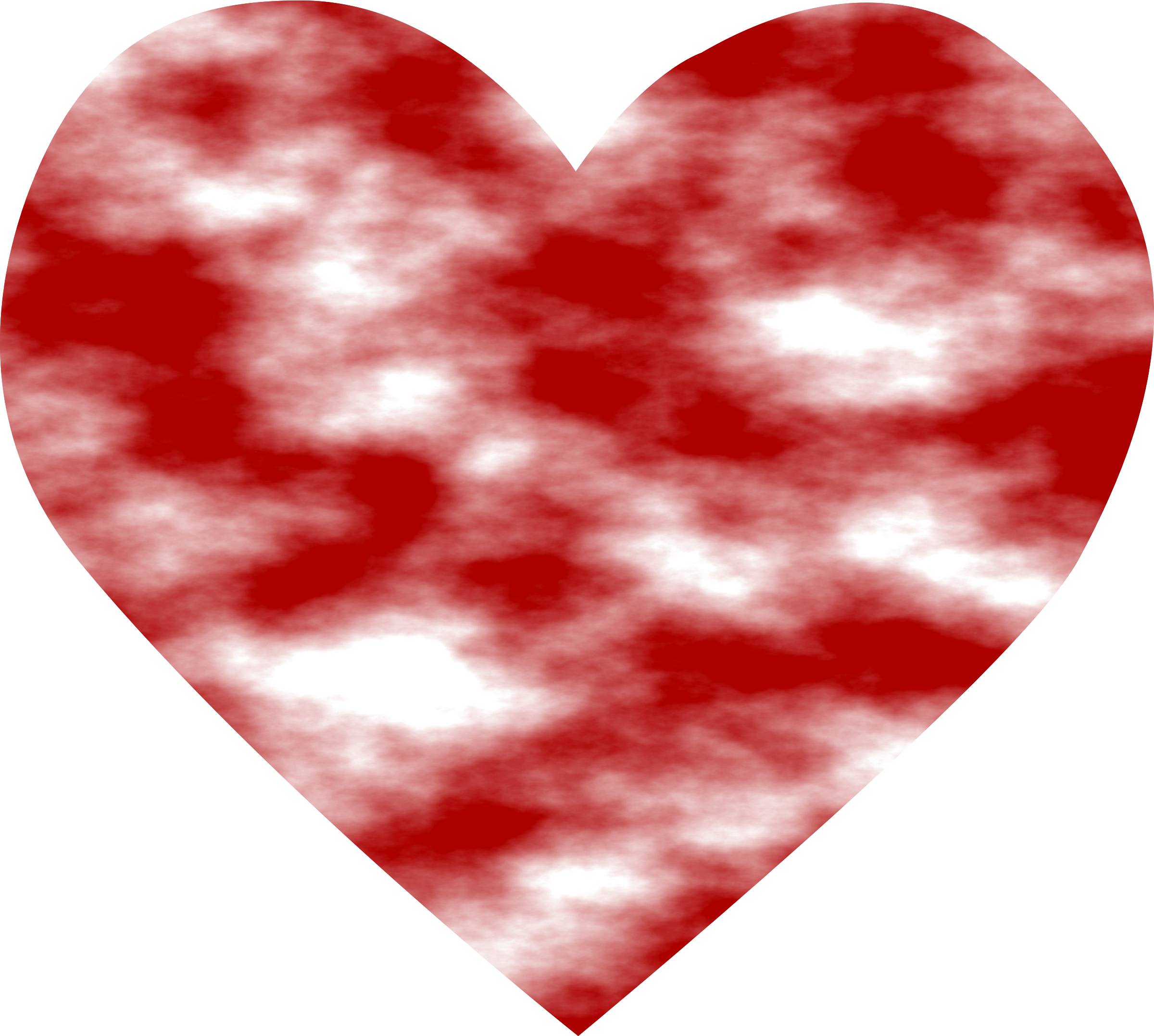 Heart big image png. Clouds clipart red
