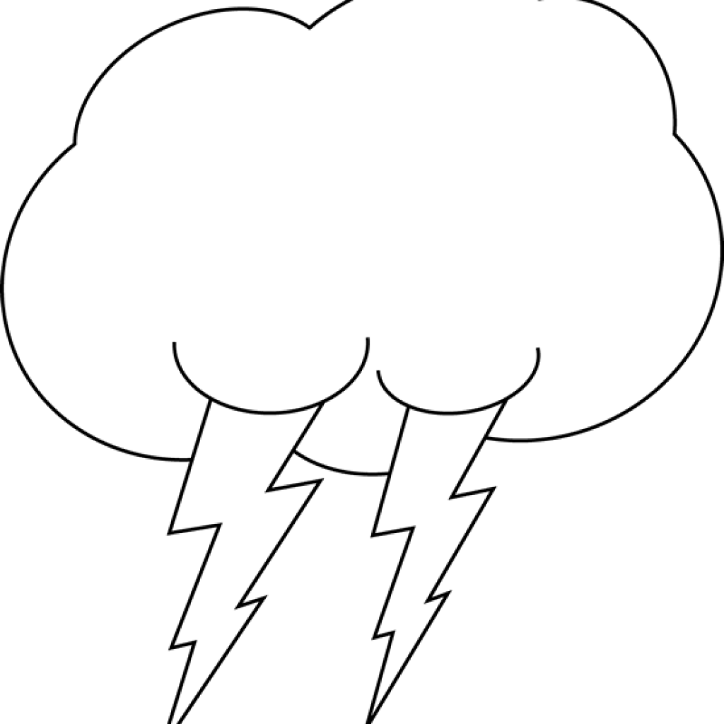 Cloud free hatenylo com. Lightning clipart black and white