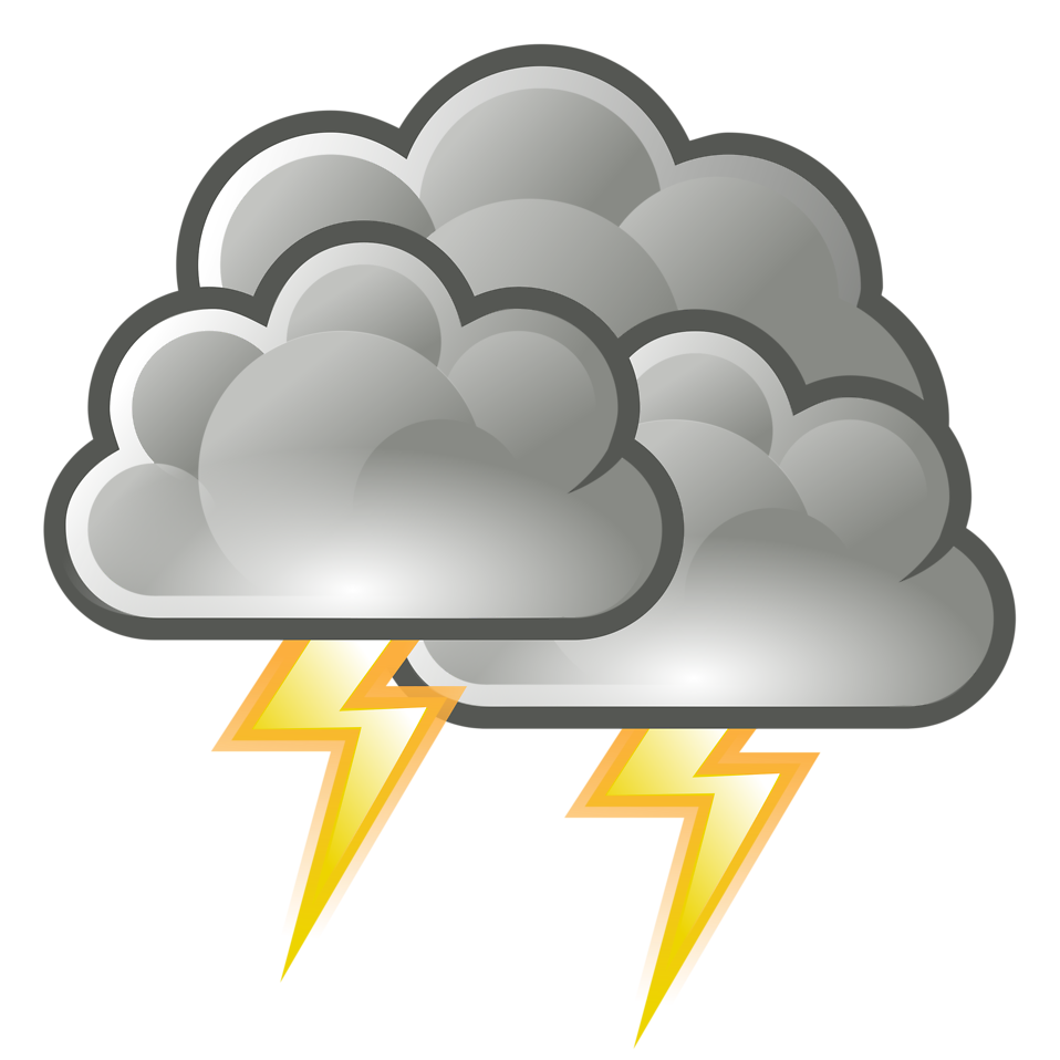 Weather free stock photo. Lightning clipart stormy