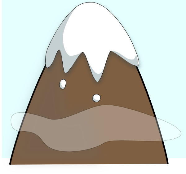 Brown with sky and. Hike clipart mountain climber