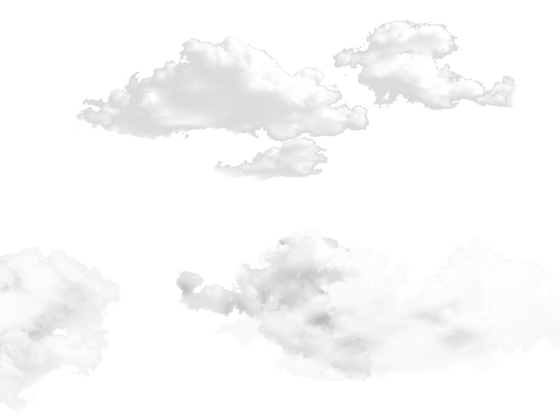 Free clouds sky overlay. Cloudy clipart puffy cloud