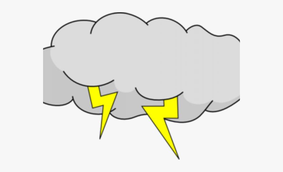 Hurricane clipart animated. Lightning cartoon storm cloud