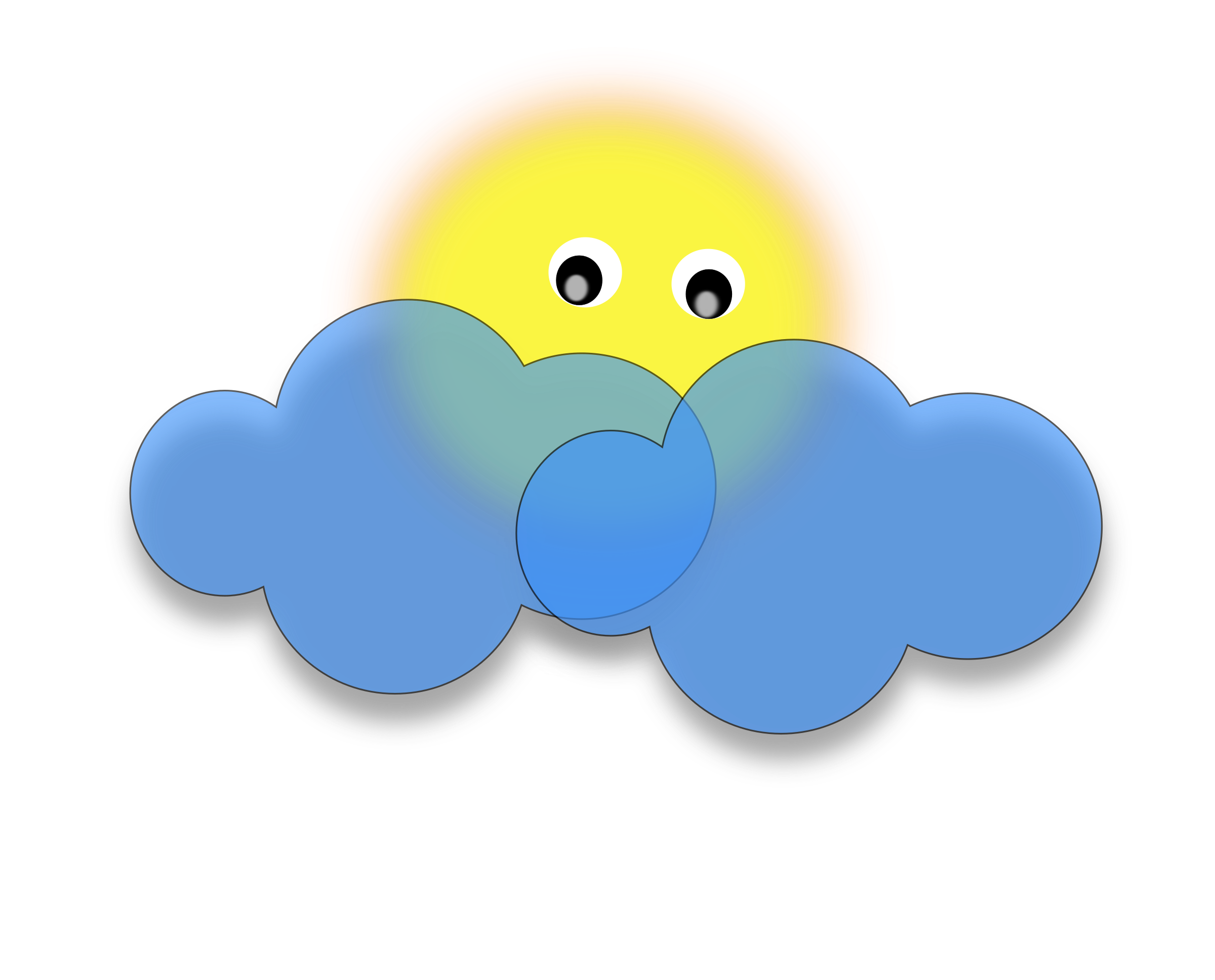 collection of sun. Clouds clipart mountain