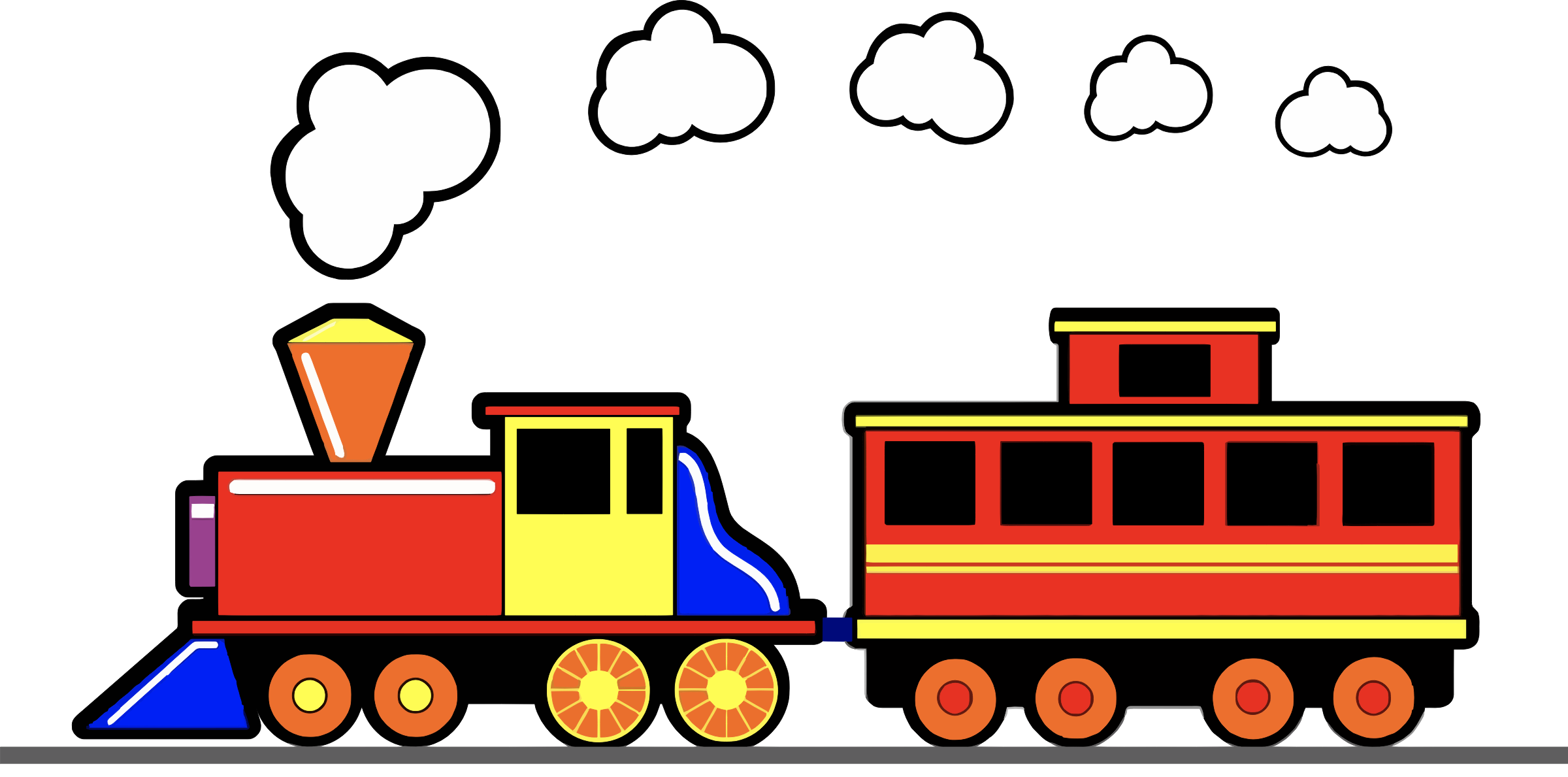 Toy icons png free. Clouds clipart train