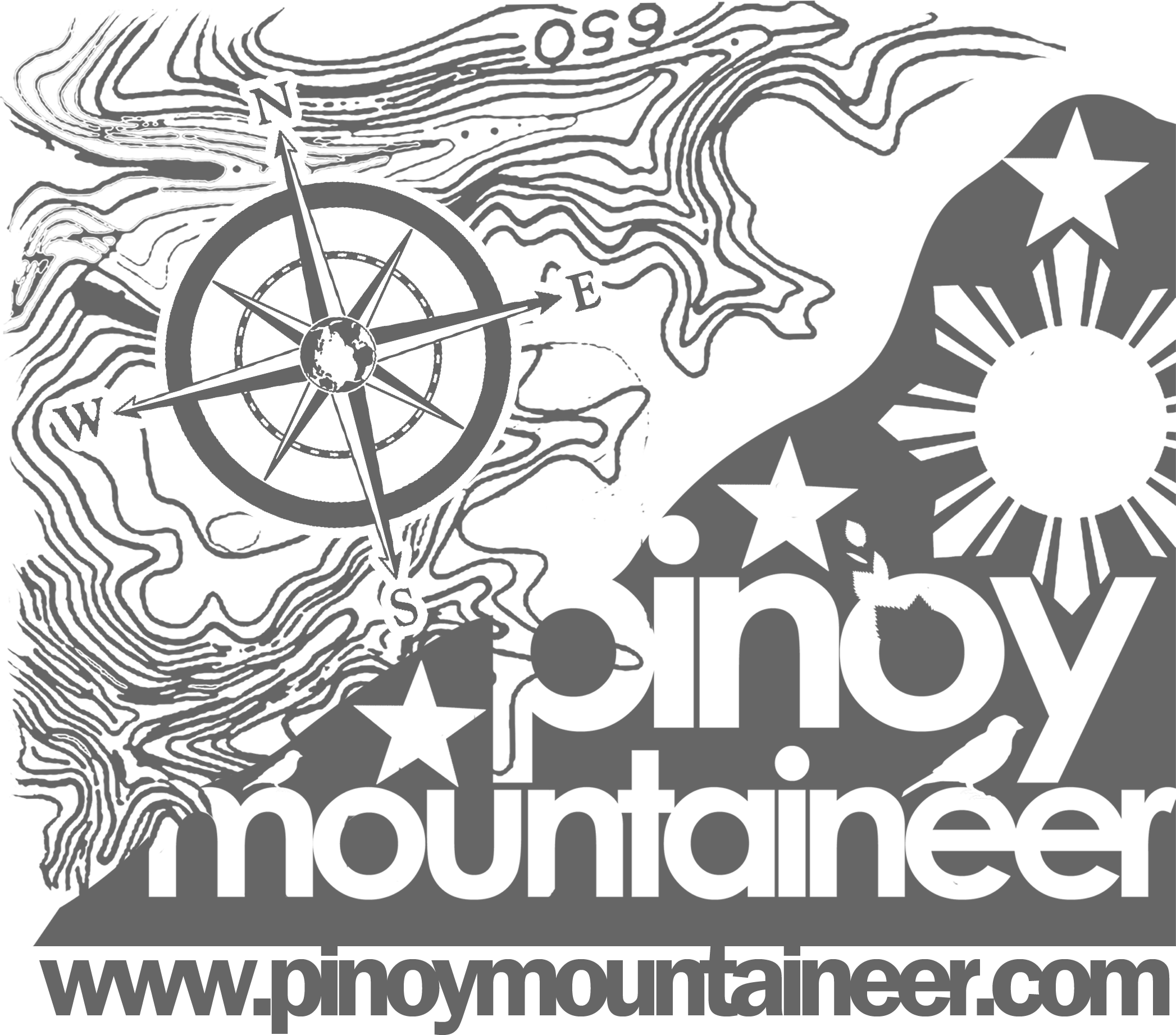 Difficulty archives pinoy mountaineer. Hiker clipart single mountain