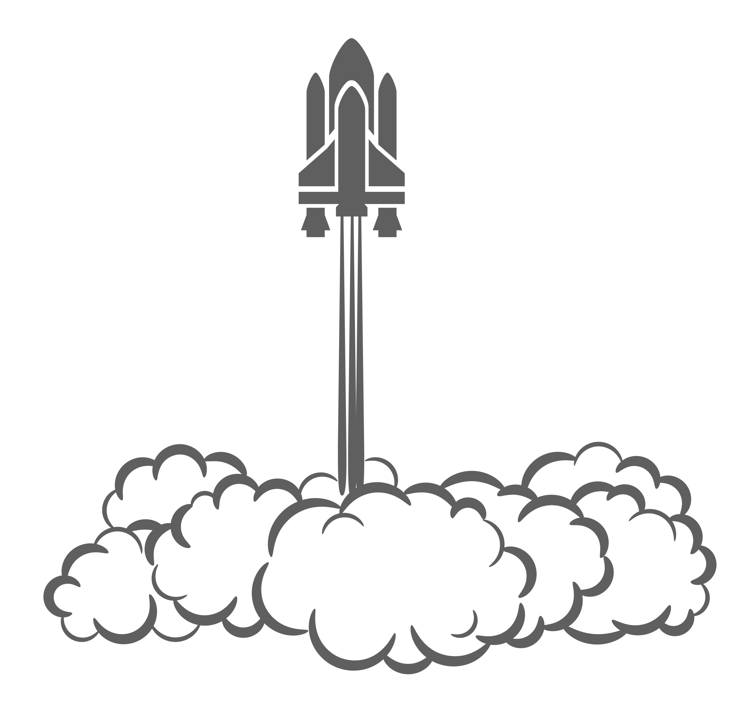 Spaceship clipart space shuttle. Smoke cloud of yywup