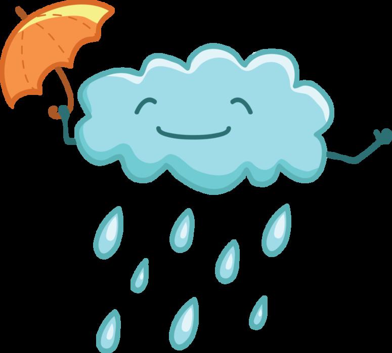 Clipart clouds winter. Tiempo lluvia rainy days