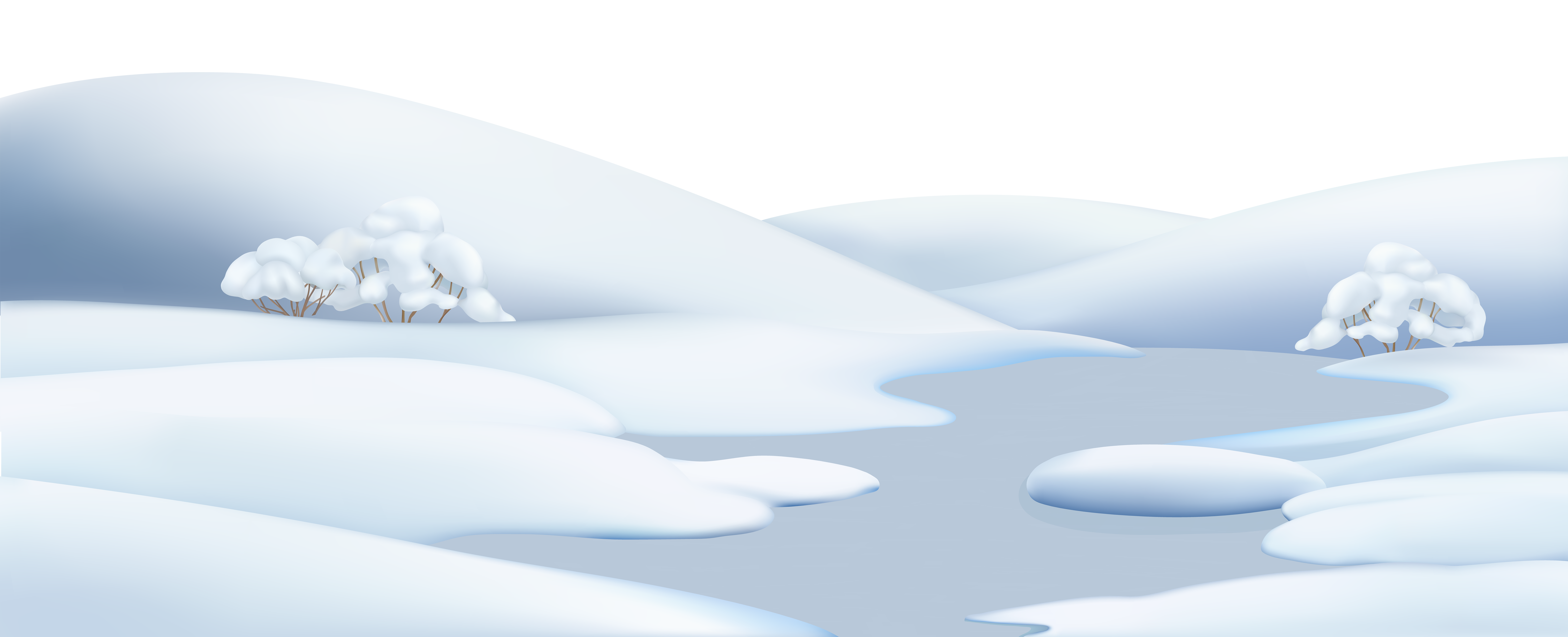 Clipart clouds winter. Snow ground png clip