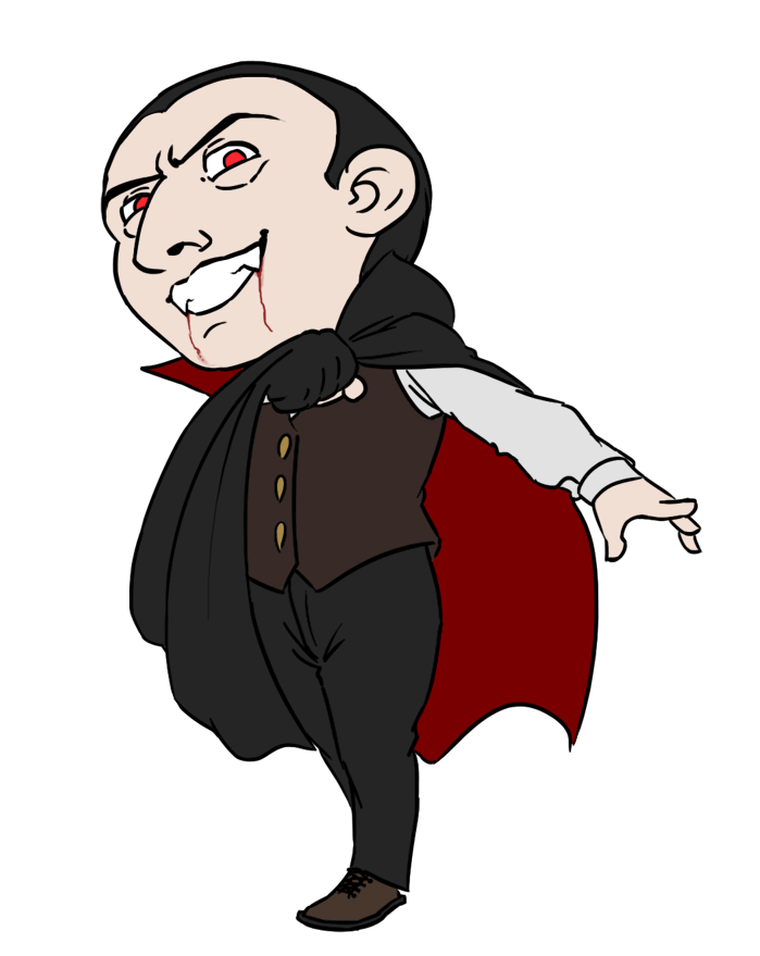 collection of cartoon. Dracula clipart baby count