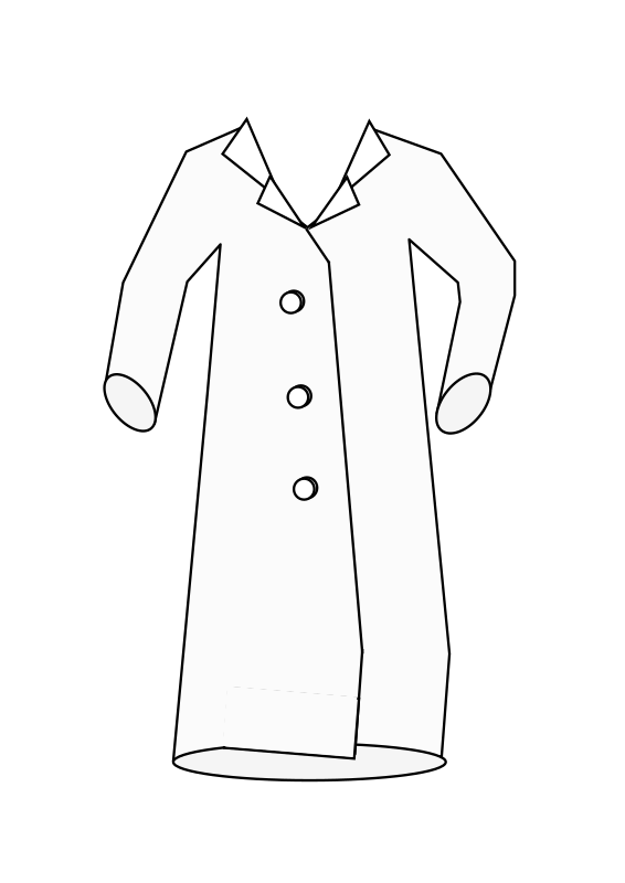 Images of coat cartoon. Lab clipart lab safety