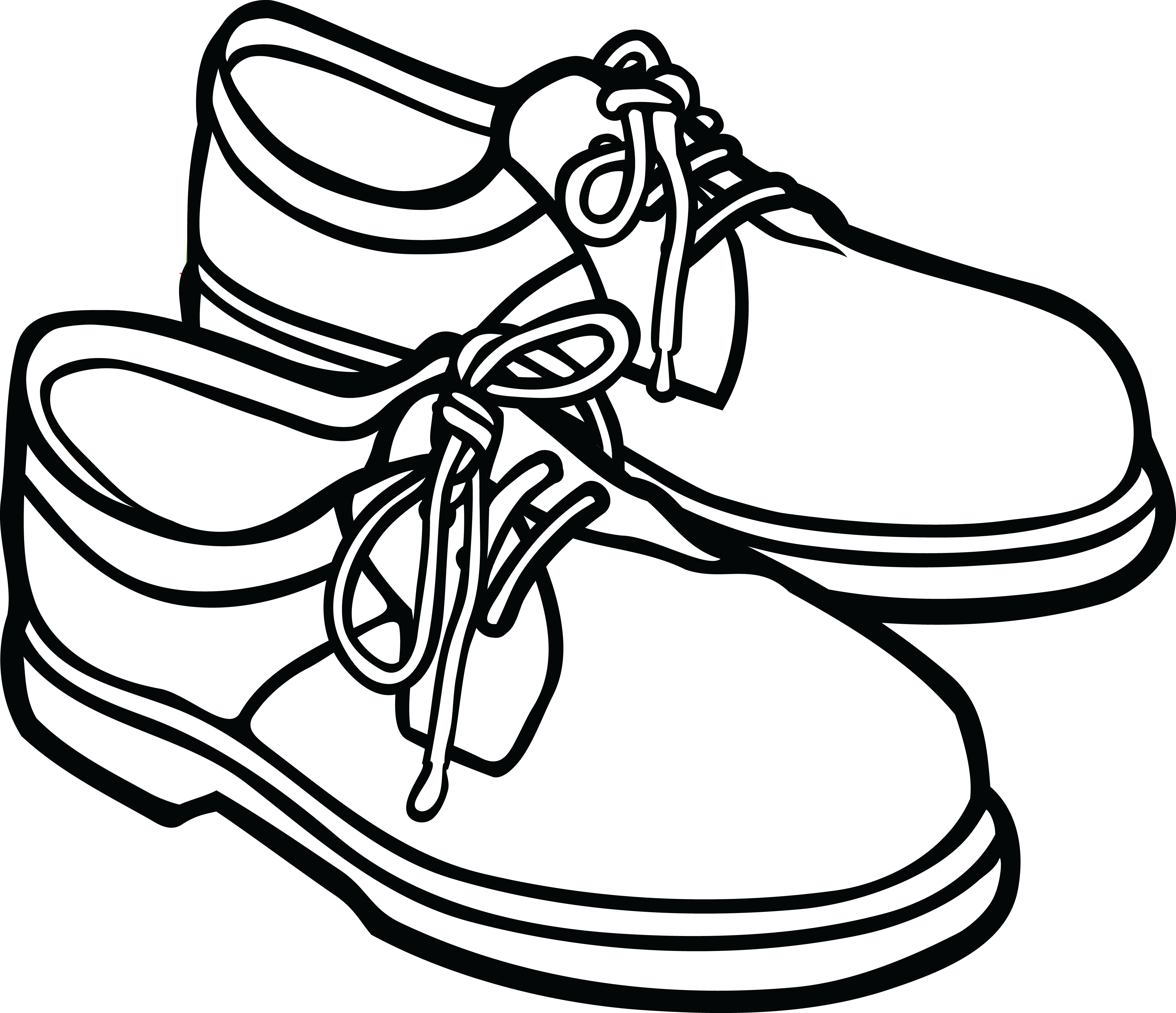 Coat shoe free camera. Clipart socks sort