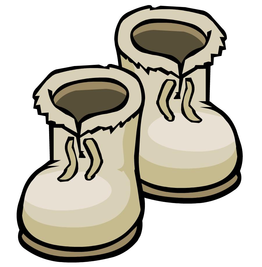 snowman clipart boot