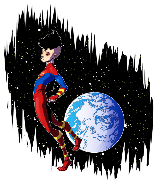 I love superboy half. Hoodie clipart pink coat