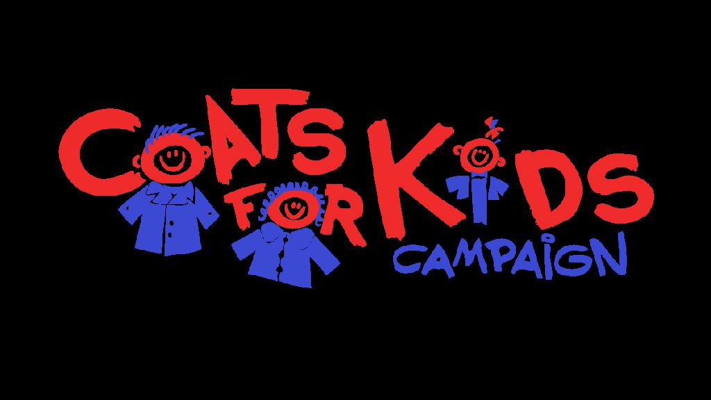 Coats for kids campaign. Jacket clipart coat drive