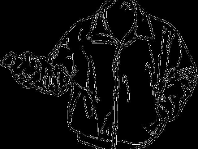 Coat clipart coat outline. Blazer jacket black and