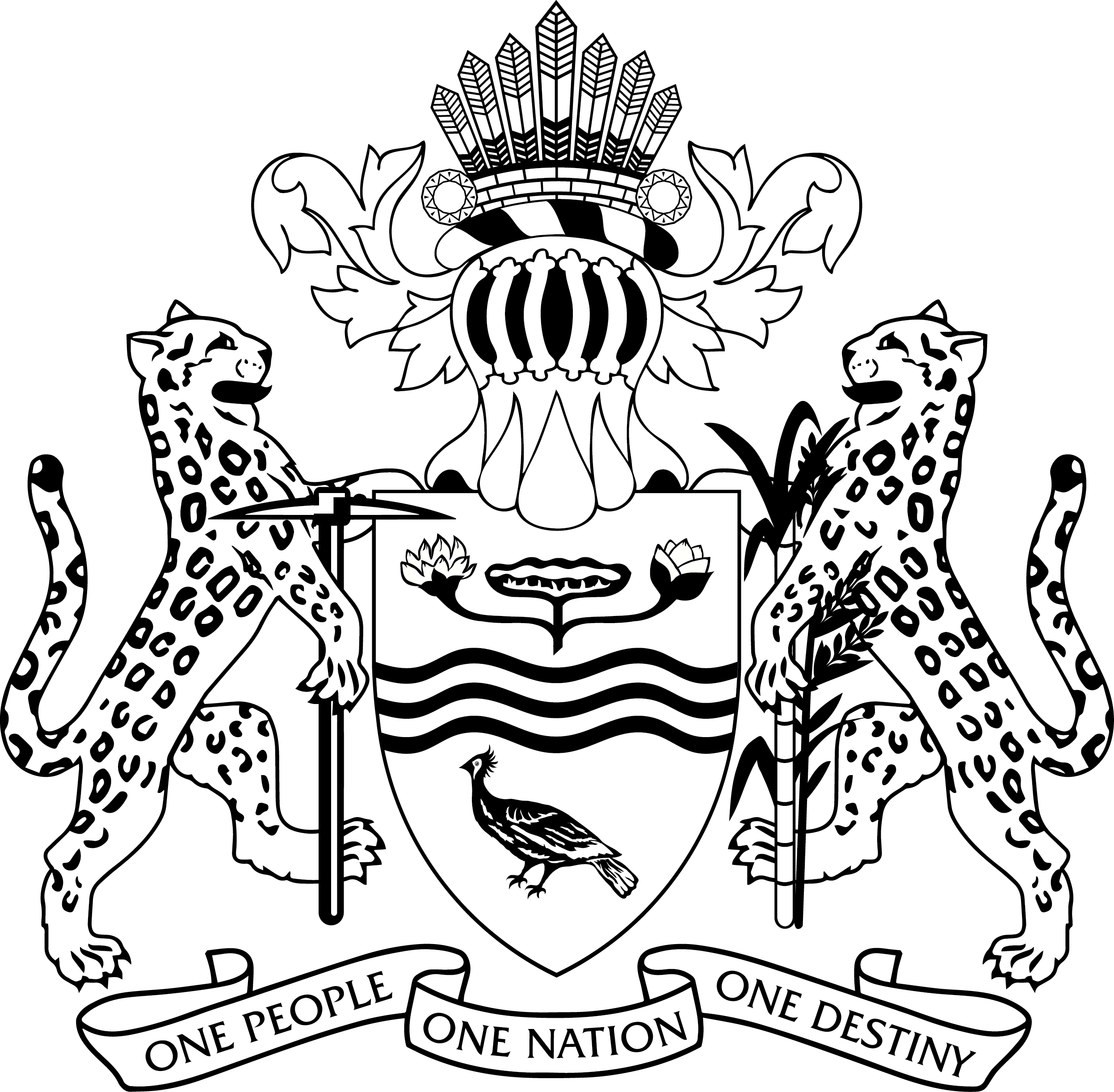 Coat clipart coat outline. File guyana of arms