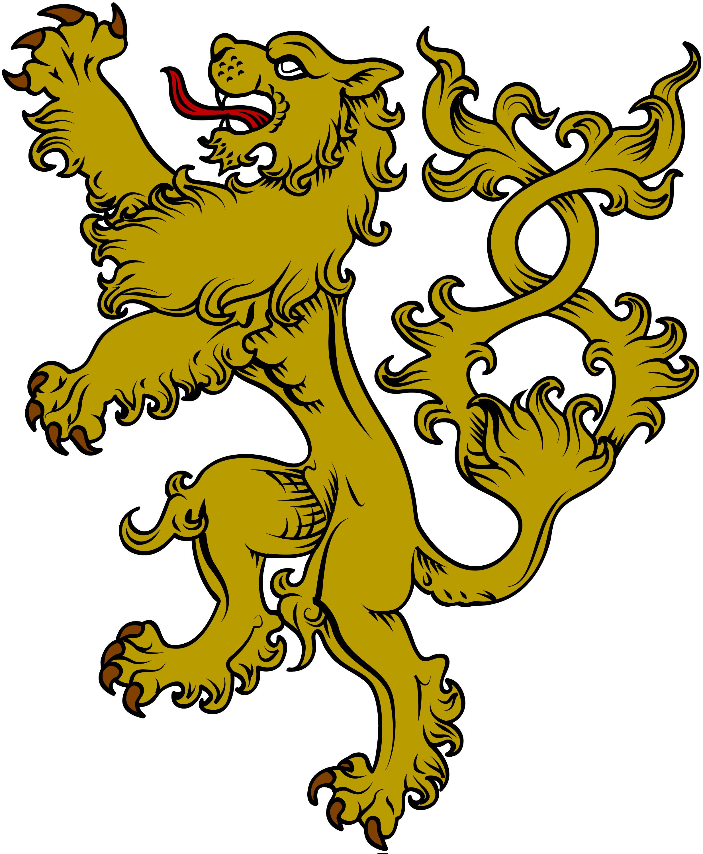 Medieval clipart medieval symbol. Heraldic wolf garb board
