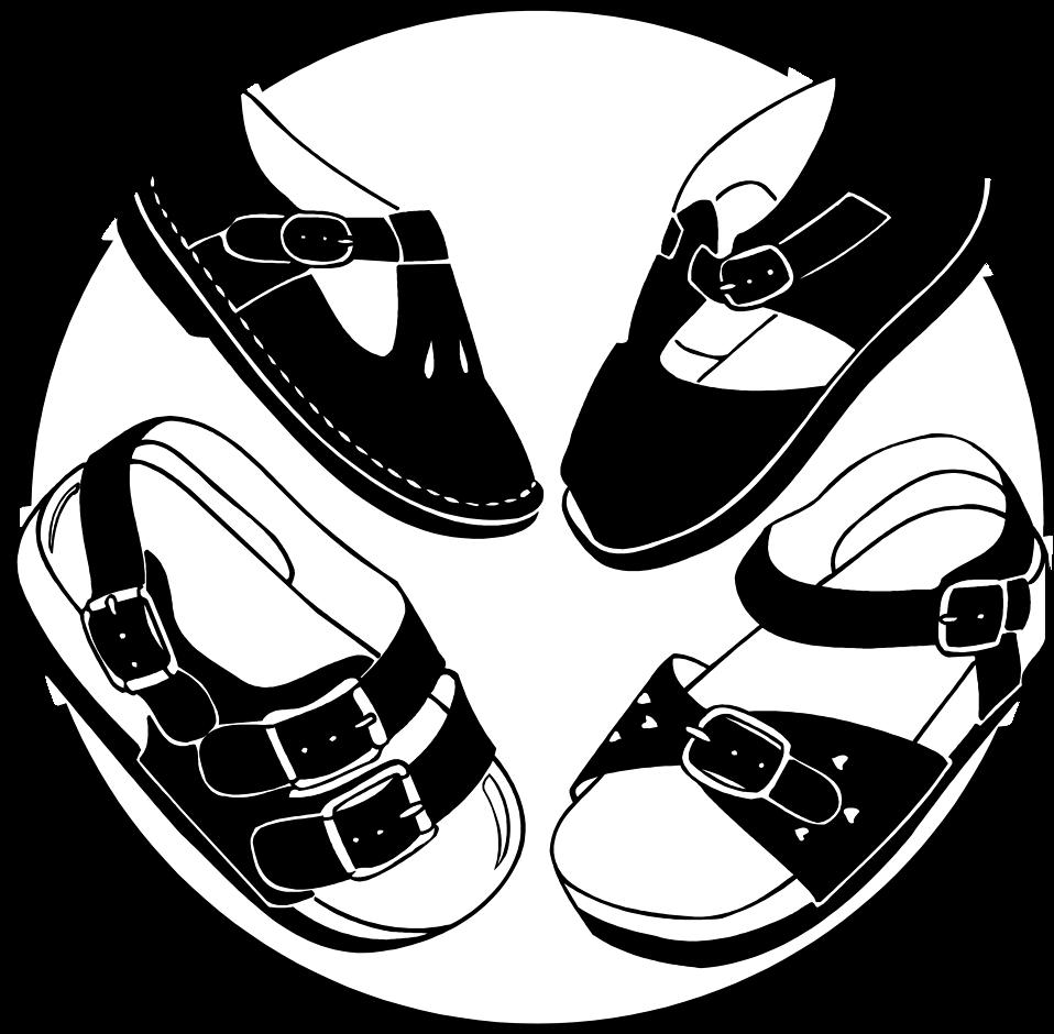 Heels girl shoe