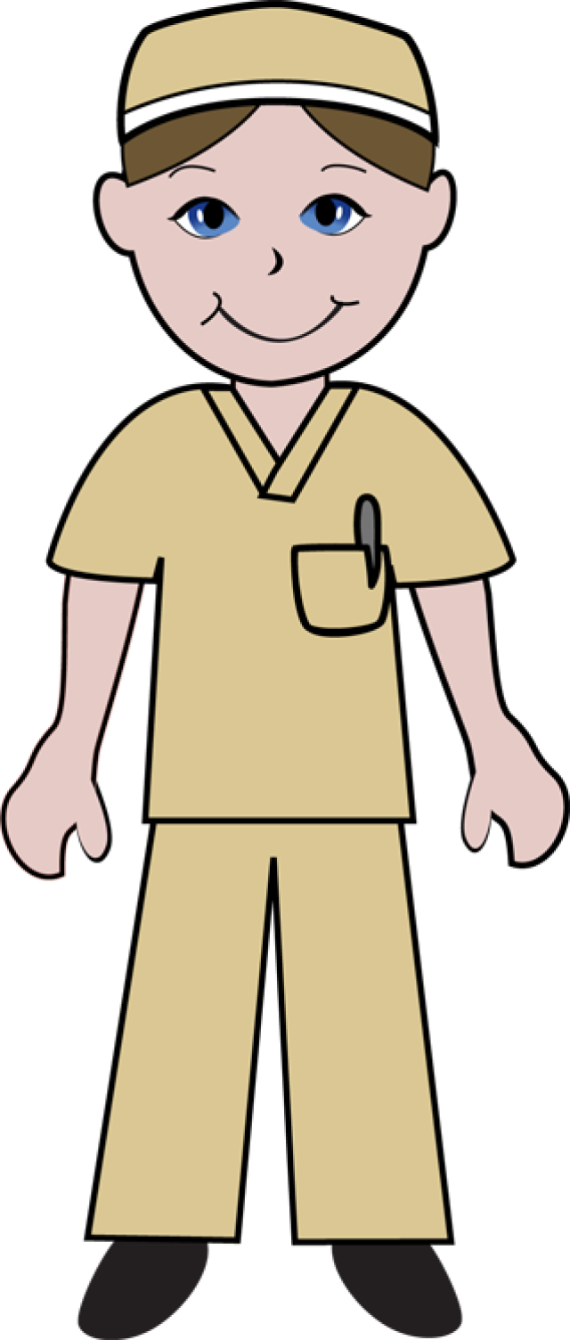M dico hospital doentes. Nurse clipart easy