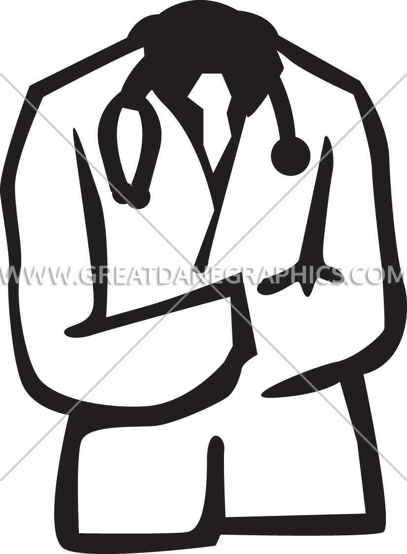 Doctor clipart white coat. Doctors production ready artwork