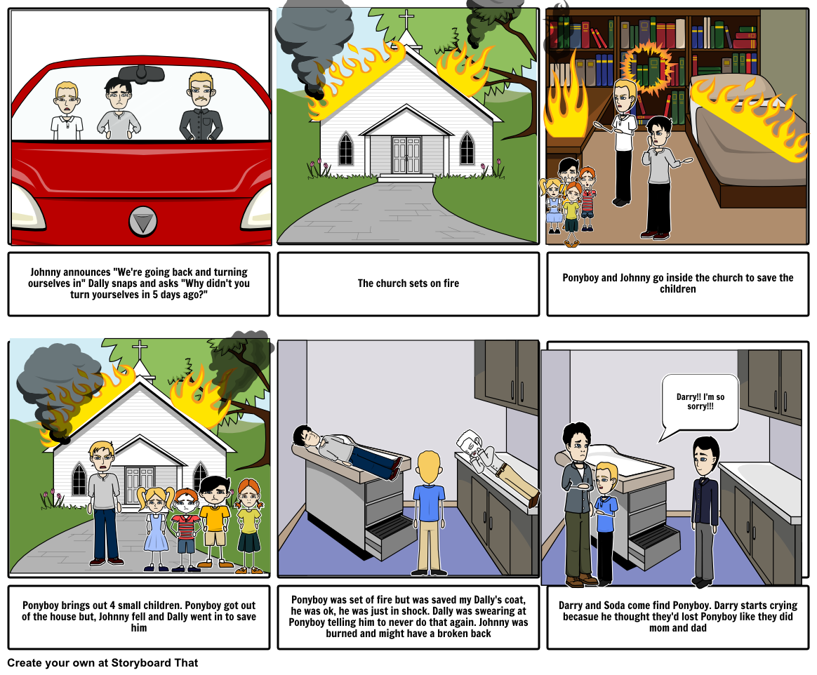 The outsiders chapter storyboard. Clipart fall fell