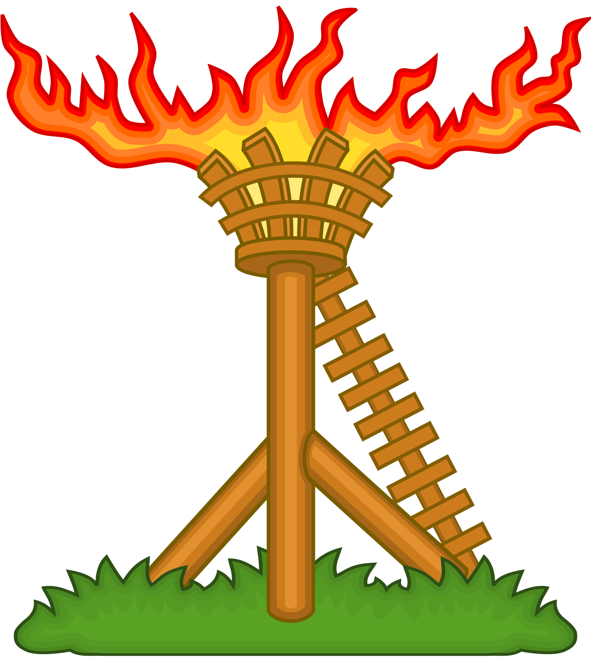 File beacon badge of. Thumb clipart fire