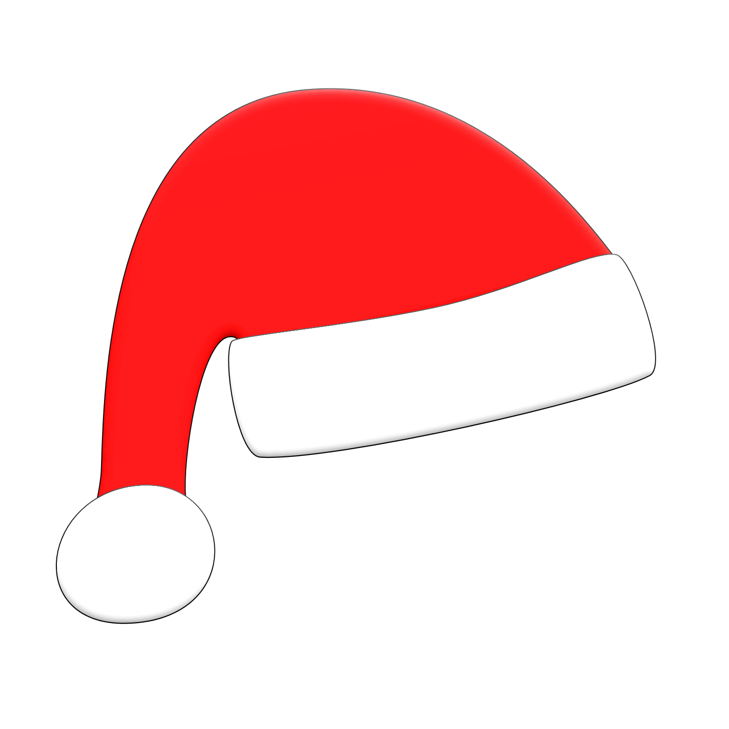 collection of santa. Hat clipart coat