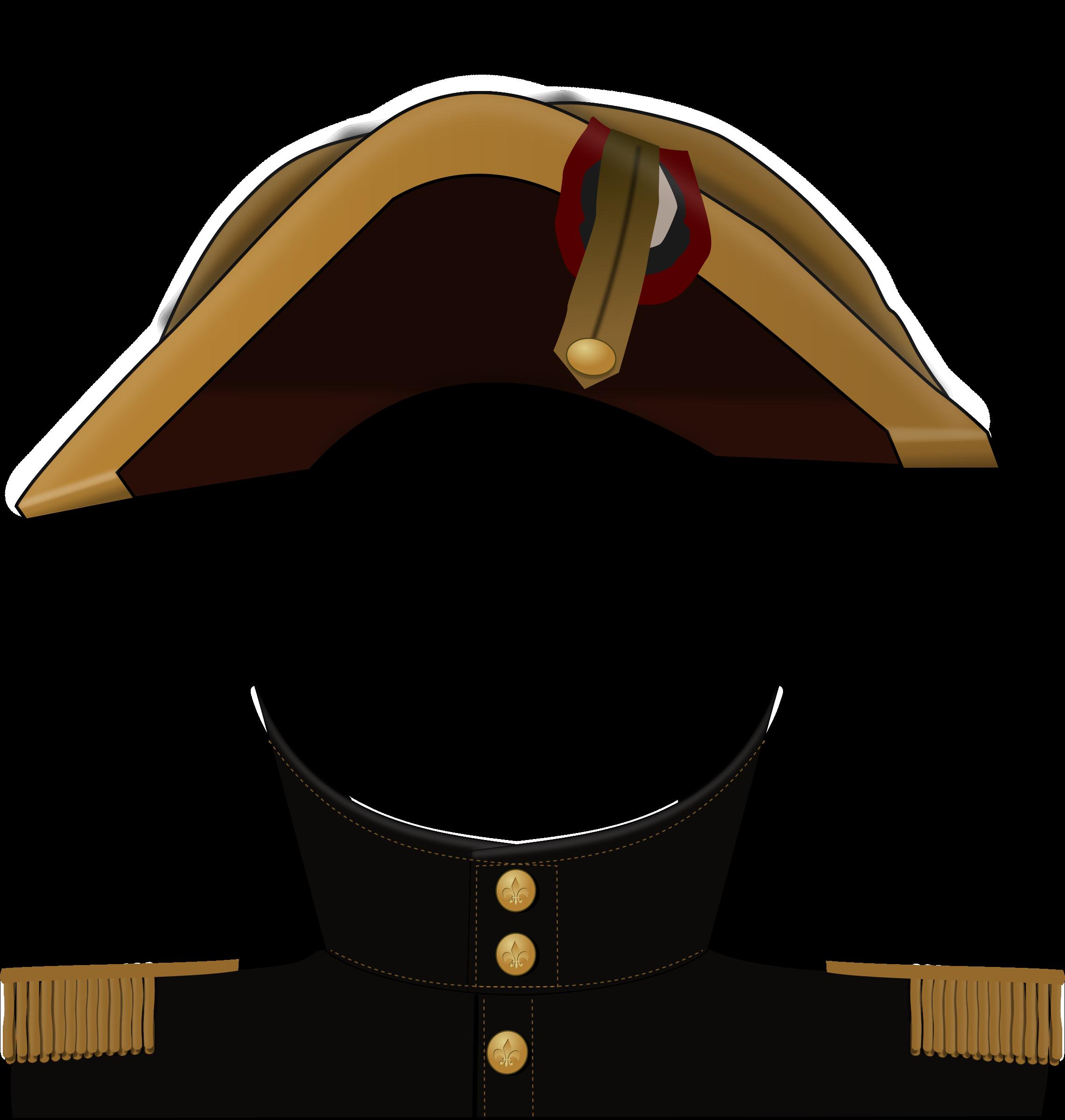 Coat clipart hat. Napoleon big image png