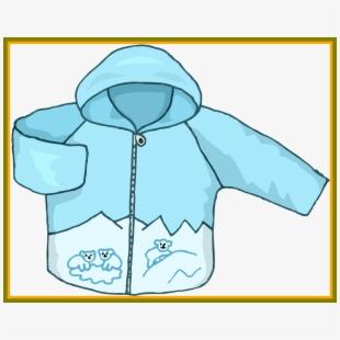 Clipart winter outerwear. Coat hood jacket