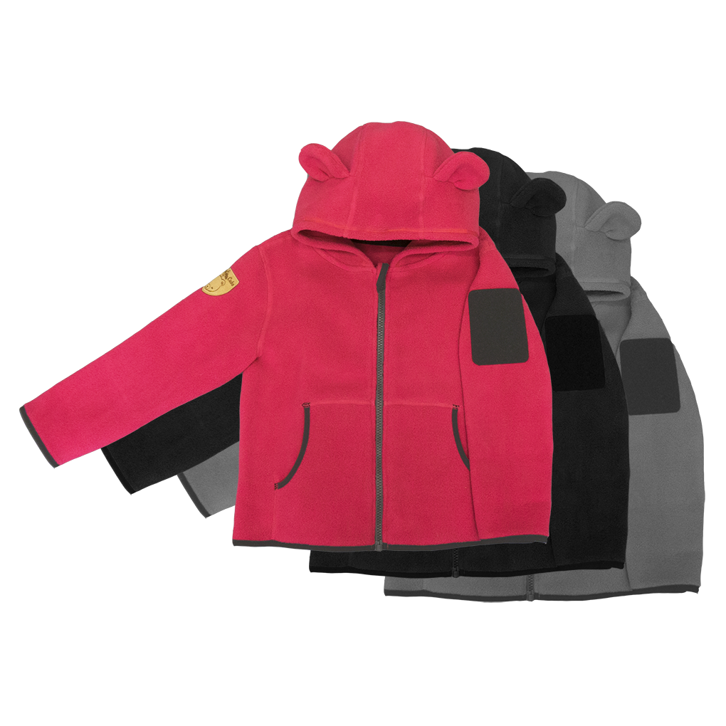 Hoodie clipart pink coat. The little critter cub