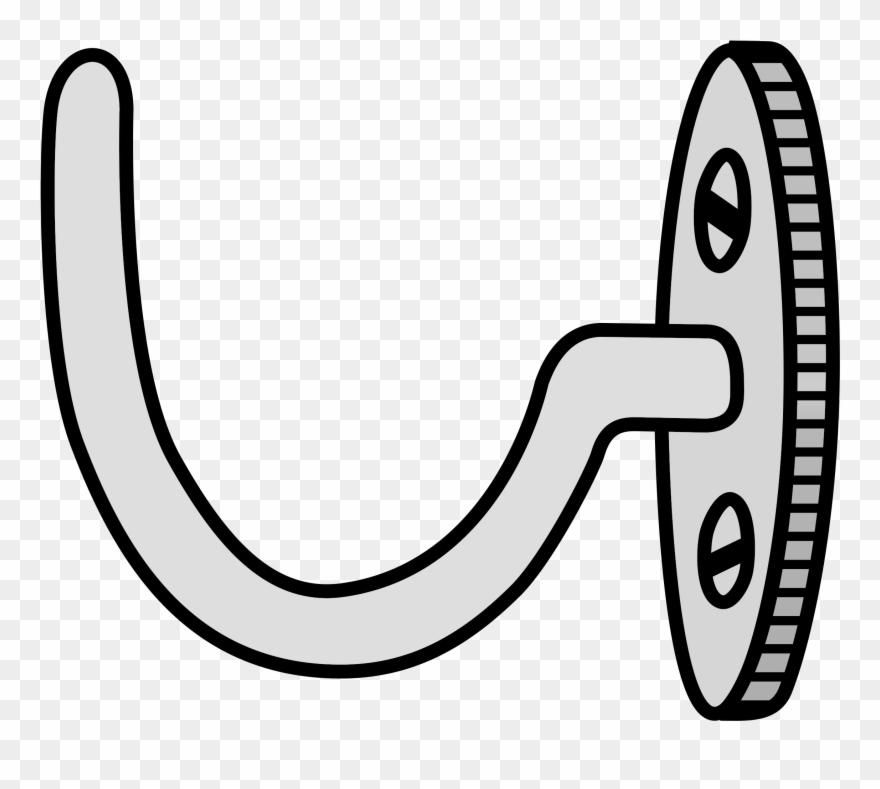 Hook clipart coat hook. Clip art png download