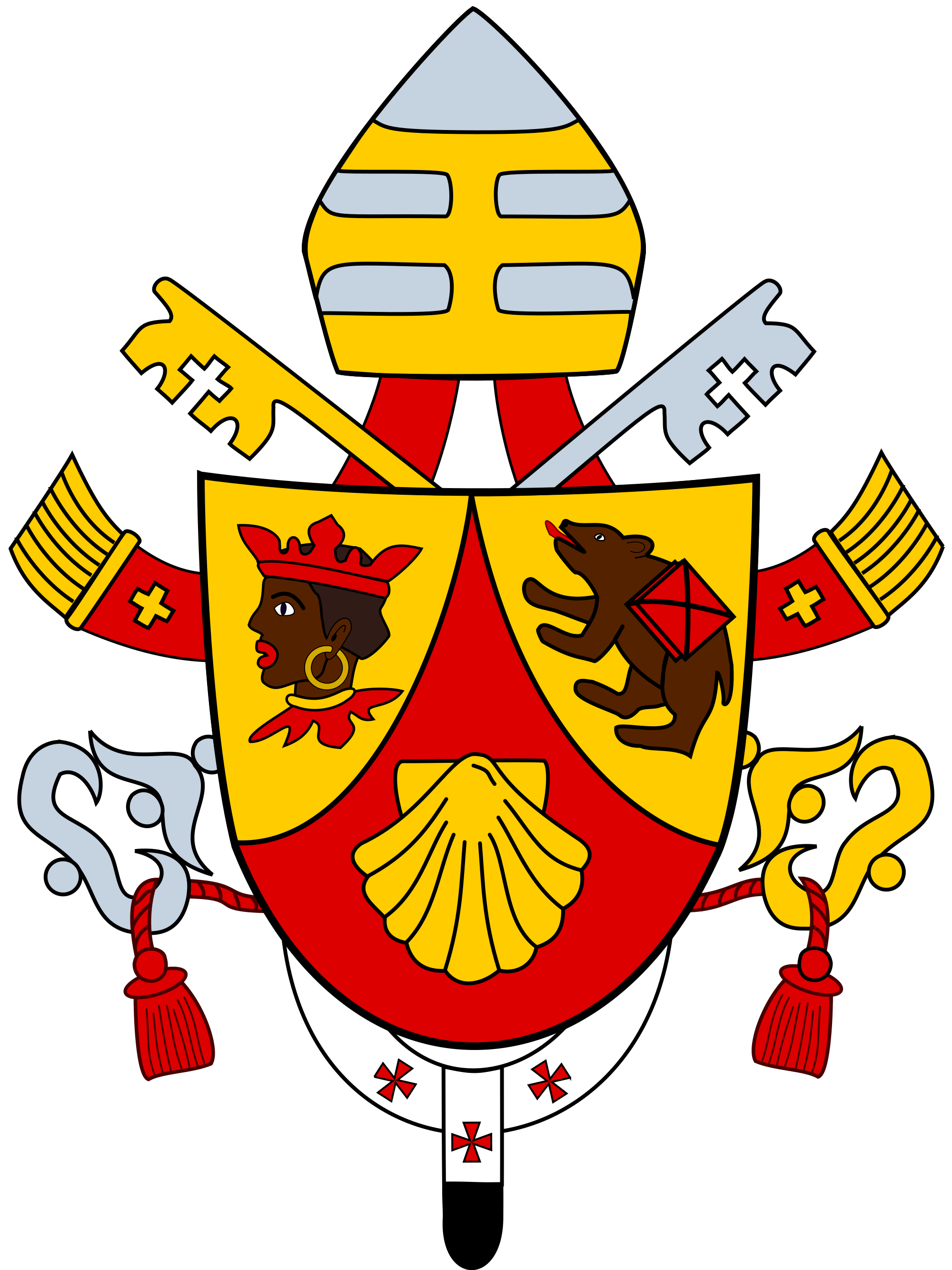 Coat of arms of Pope Benedict XVI