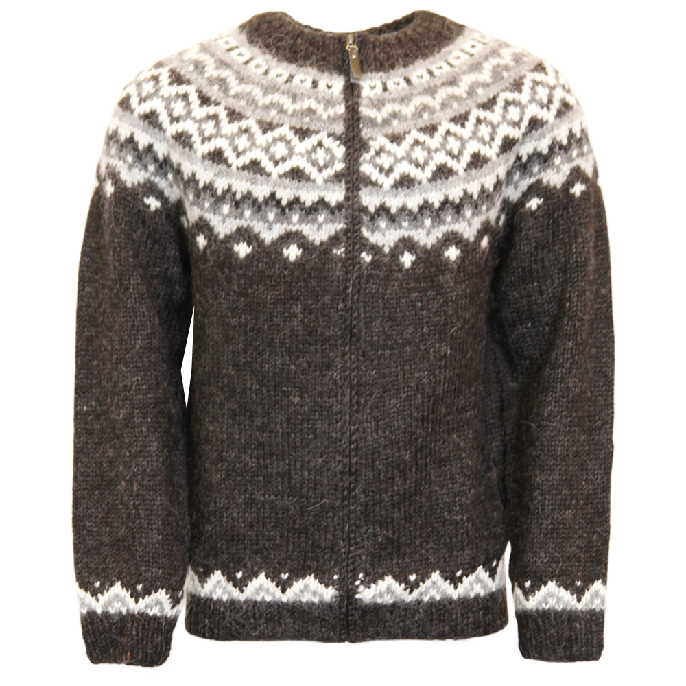 Zipper clipart brown. Skj ldur icelandic wool