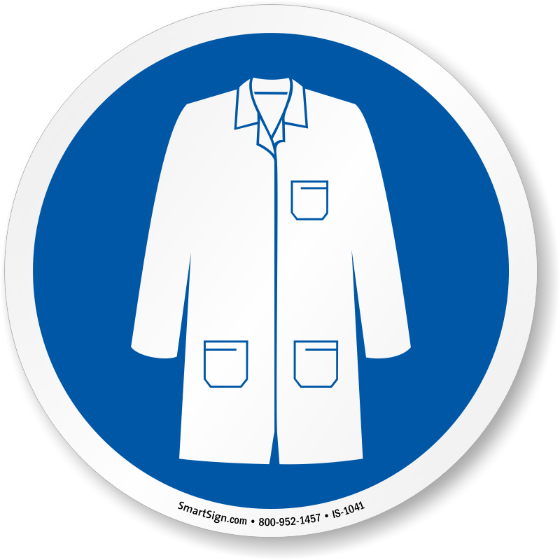 Patient clipart laboratory coat.  collection of blue