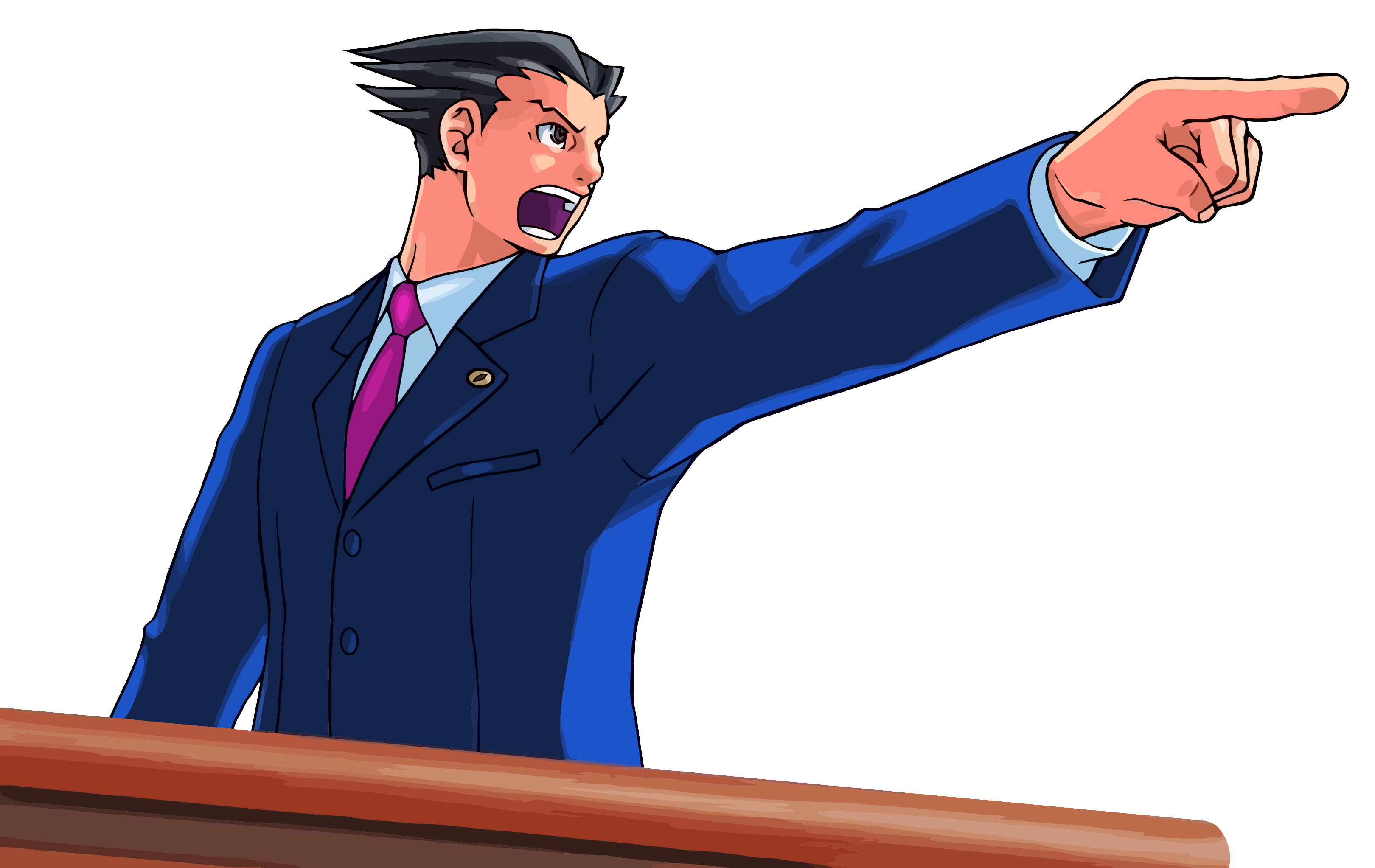 Ace attorney png transparent. Lawyer clipart lawyer cartoon