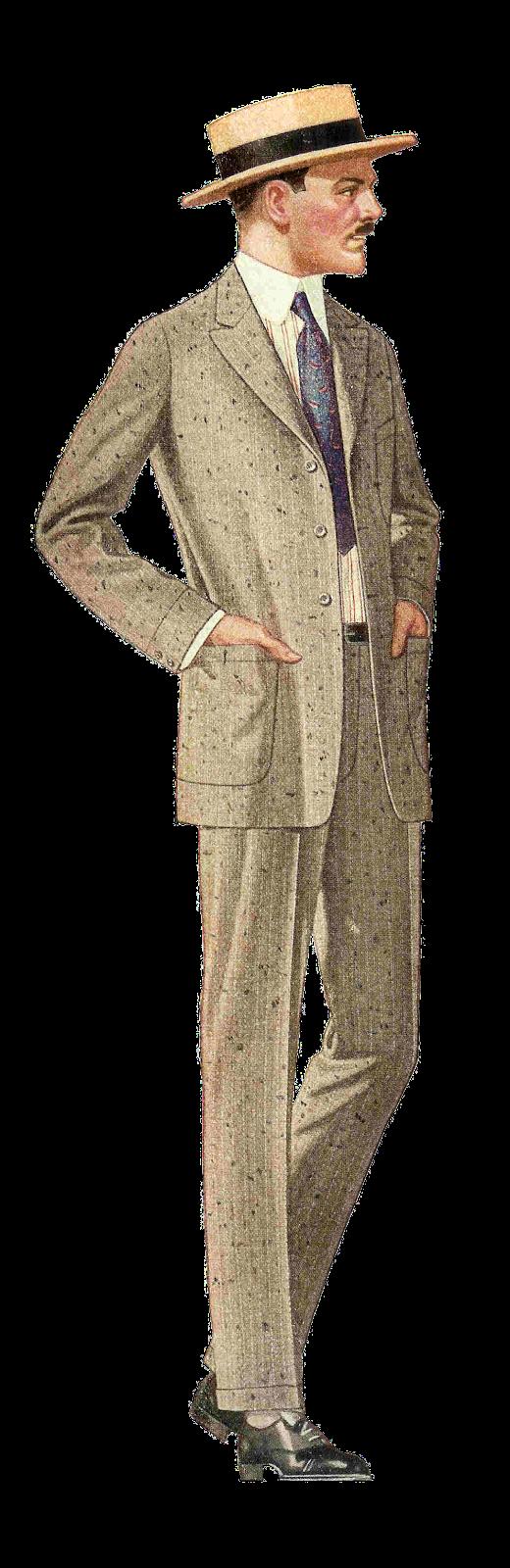 Coat men's suit