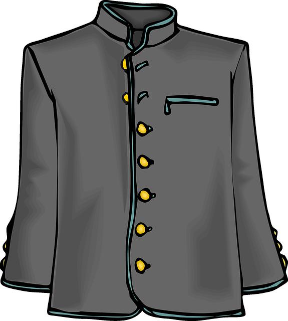Winter clipart coat. Coats group uniform pencil