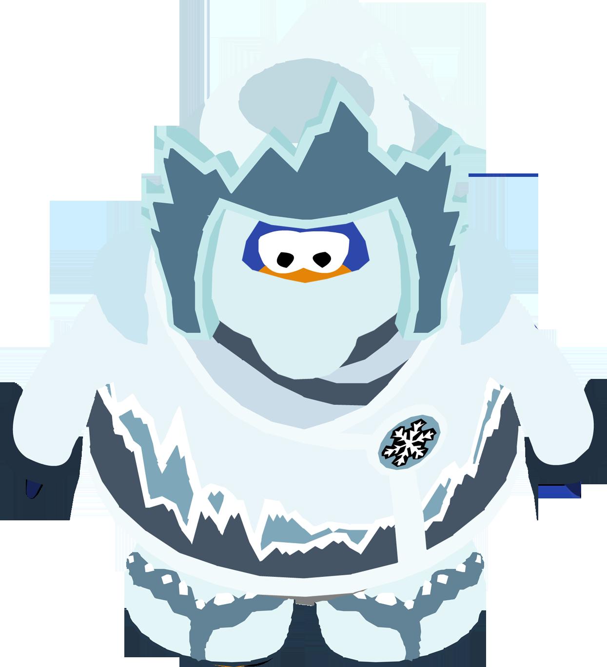 Floor clipart snowy. Snow ninja club penguin